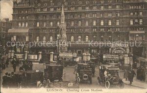 London Charing Cross Station Automobile Kat. City of London