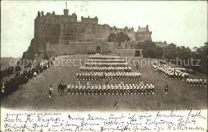 Edinburgh Castle and Esplanade Kat. Edinburgh