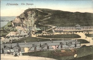 Ilfracombe North Devon The Zigzags Kat. North Devon
