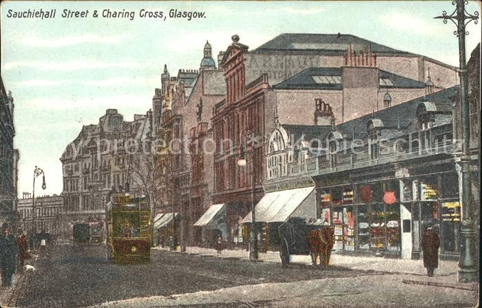 Glasgow Sauchiehall Street and Charing Cross Kat. Glasgow City