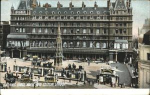 London Charing Cross Hotel and Station Kat. City of London