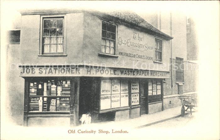London Old Curiosity Shop Kat. City of London