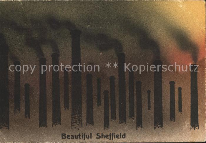 Sheffield Drawing Kuenstlerkarte Kat. Sheffield