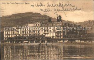 Vevey VD Hotel des Trois Couronnes Kat. Vevey