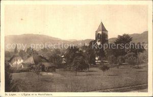 St Legier Eglise et le Mont Pelerin Kat. St Legier