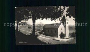 Mont Pelerin Eglise Kat. Mont Pelerin