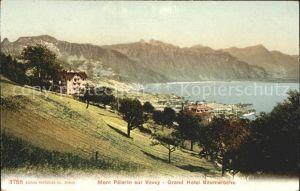 Mont Pelerin sur Vevey Grand Hotel Baumaroche Kat. Mont Pelerin
