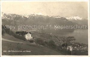 Mont Pelerin et vue sur Vevey Kat. Mont Pelerin