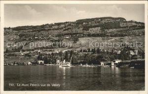 Mont Pelerin vue de Vevey Kat. Mont Pelerin