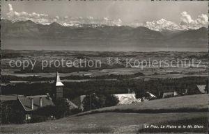 La Praz Le Plaine et le Mt Blanc Kat. La Praz