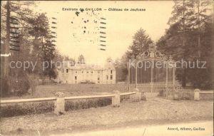 Gaillon Environs de Gaillon Chateau de Jeufosse Kat. Gaillon
