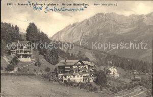 Arveyes Pension Anglaise et clinique Monte Sano Kat. Arveyes