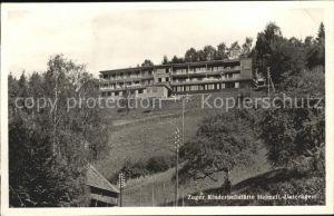 Unteraegeri Zuger Kinderheilanstalt Heimeli Kat. Unteraegeri