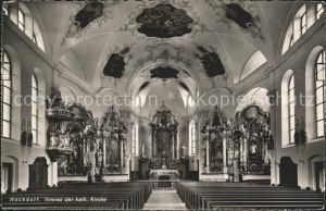 Hochdorf LU Kirche innen / Hochdorf /Bz. Hochdorf