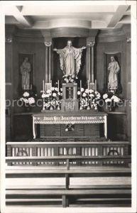 Wolhusen Exerzitienhaus Altar Kat. Wolhusen