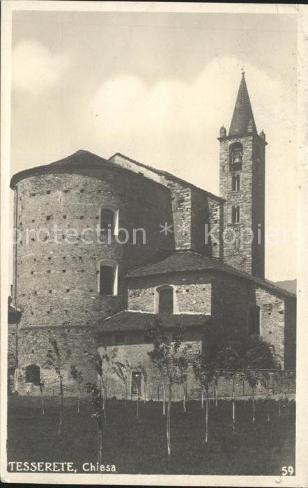 st99105 Tesserete Chiesa Kat. Tesserete