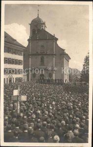 Heiden AR Kundgebung an der Kirche / Heiden /Bz. Vorderland