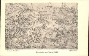 Solothurn Museum Gemaelde Schultheiss von Wengi Kat. Solothurn