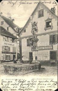 Rheinfelden AG Historischer Brunnen Spitalbrunnen Kat. Rheinfelden