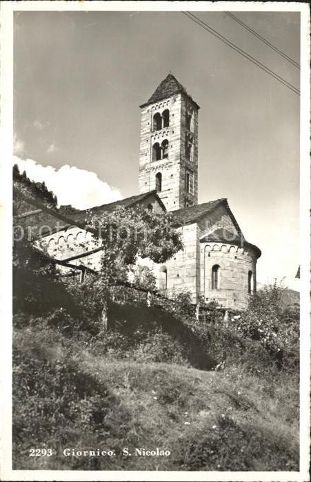 Giornico San Nicolao Kat. Giornico