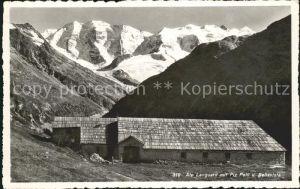 Pontresina Alp Languard mit Piz Palue und Bellavista Kat. Pontresina