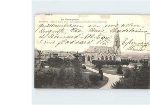 Epernay Marne La Champagne Hospital Auban Moet La Chapelle et le Pavillon de la communaute Kat. Epernay