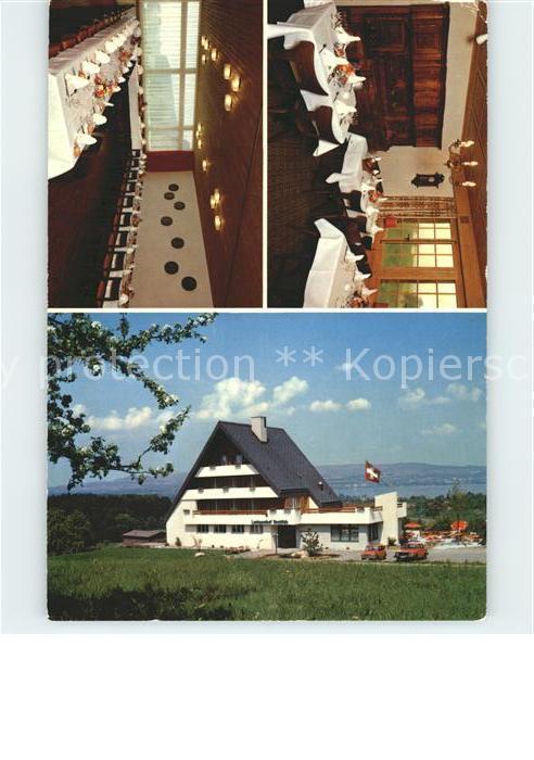Rotkreuz Landgasthof Breitfeld Aussichtsrestaurant Kat. Rotkreuz