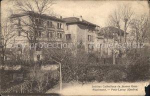 Florimont Institut Catholique de Jeunes Gens Petit Lancy Kat. Florimont