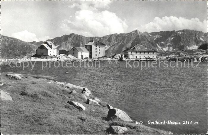 St Gotthard Hospiz st gotthard gotthardhospiz gotthard st nr sv12754 oldthing