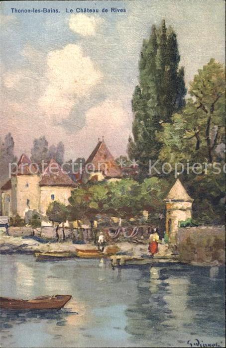 Thonon les Bains Chateau de Rives Kat. Thonon les Bains