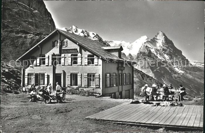 Grosse Scheidegg Hotel Grosse Scheidegg Kat. Scheidegg Grosse