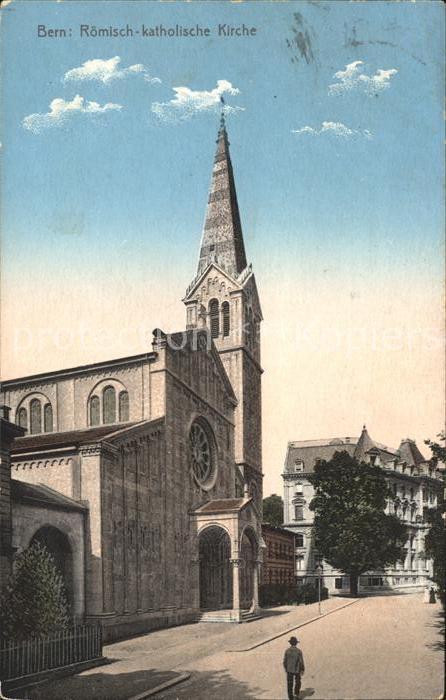 Bern BE Roem kath Kirche Kat. Bern