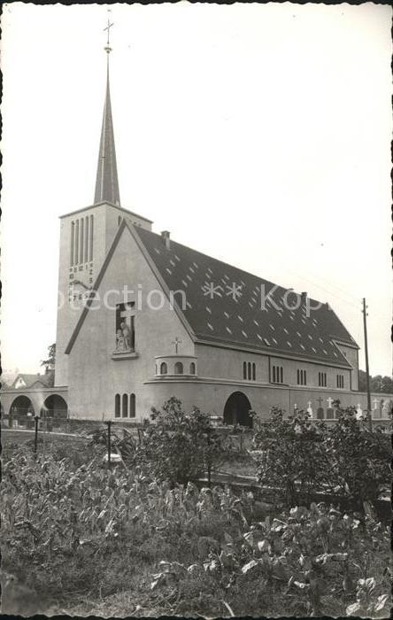 Orsonnens Nouvelle Eglise Kat. Orsonnens