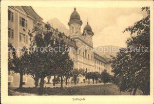 Schwyz Kollegium Maria Hilf Suedfassade Kat. Schwyz