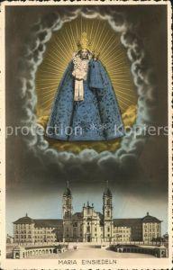 Einsiedeln SZ Gnadenbild Kloster Maria Einsiedeln / Einsiedeln /Bz. Einsiedeln