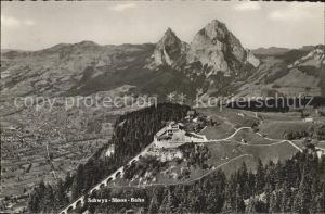 Schwyz Panorama Schwyz Stoos Bahn Kat. Schwyz