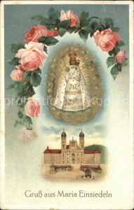Einsiedeln SZ Kloster Maria Einsiedeln Gnadenbild / Einsiedeln /Bz. Einsiedeln