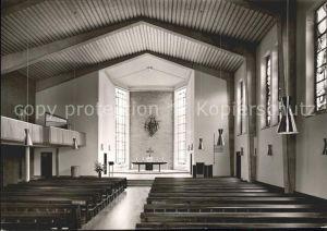 Schwaebisch Hall Auferstehungskirche Ev. Diakonissennastallt  Kat. Schwaebisch Hall