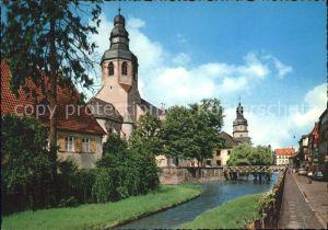 Ettlingen Rathausturm Kirche St. Martin / Ettlingen /Karlsruhe LKR