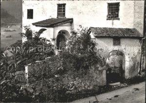 Luzein Eingang zum Grossen Haus Kat. Luzein