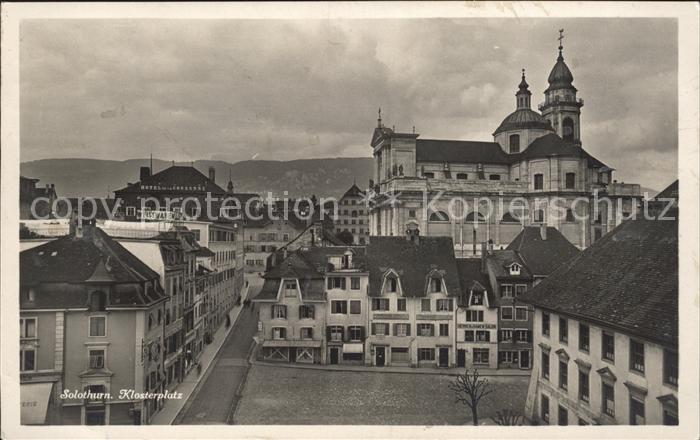 Solothurn Klosterplatz Kat. Solothurn