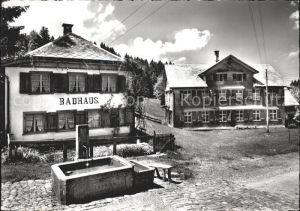 Hemberg SG Gasthaus Ferienkolonie zur Traube Badhaus / Hemberg /Bz. Toggenburg