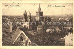 Arnstadt Ilm Blick Berggartenweg / Arnstadt /Ilm-Kreis LKR