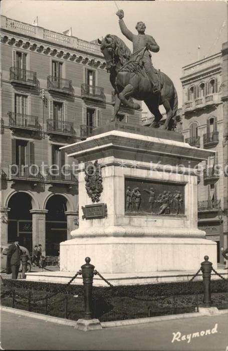 Reus Monumento General Juan Prim / Reus /Tarragona
