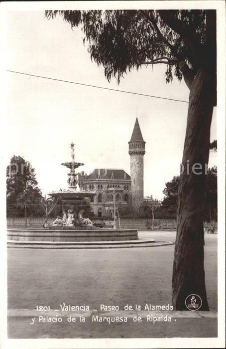 Valença Paseo de la Alameda y Palacio Marquesa de Ripalda Kat. Valença