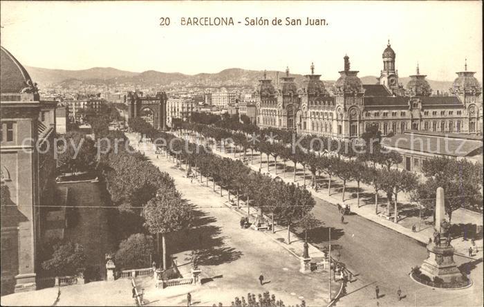 Barcelona Cataluna Salon San Juan Kat. Barcelona