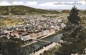 Graz Steiermark Blick vom Schlossberg Kat. Graz