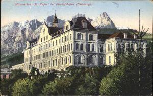Bischofshofen Missionshaus St. Rupert Kat. Bischofshofen