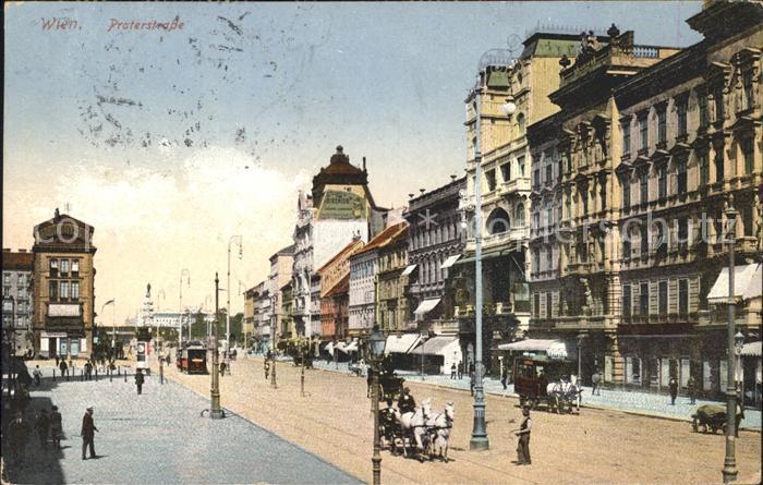 Wien Praterstrasse  Kat. Wien