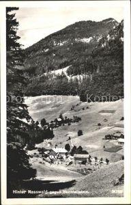 Schwarzau Gebirge Hinter Nasswald Kat. Schwarzau im Gebirge